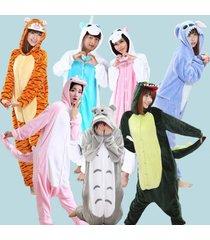 new adult unisex kigurumi pajamas animal cosplay costume fancy sleepwear siuts