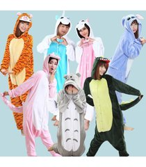 new adult unisex kigurumi pajamas animal cosplay costume fancy sleepwear siuts