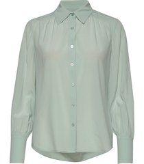 cdc stretch - may blouse lange mouwen groen sand