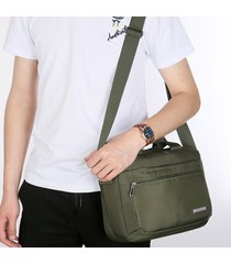 impermeabile nylon business cusual shoulder borsa valigetta crossbody borsa per uomo