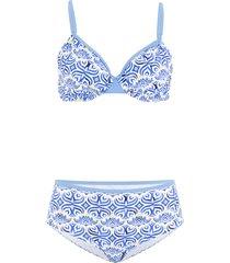 bikini con ferretto (blu) - bpc bonprix collection