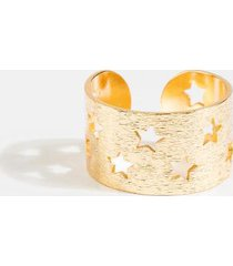 henley star cut out ring - gold