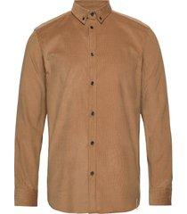akkonrad corduroy shirt skjorta casual brun anerkjendt
