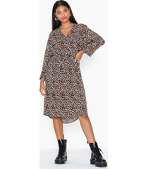 object collectors item objbay 3/4 dress aop seasonal loose fit dresses