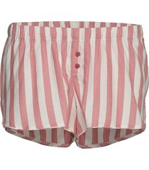 short chambray stripe shorts rosa hunkemöller