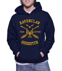 captain - new ravenclaw quidditch team captain y ink unisex pullover hoodie navy