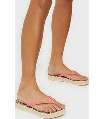 havaianas hav slim flatform animal flip-flops