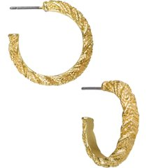 patricia nash rope textured women's earrings
