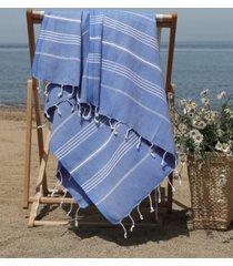 linum home lucky pestemal beach towel bedding