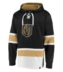 majestic vegas golden knights men's power play lace up hoodie