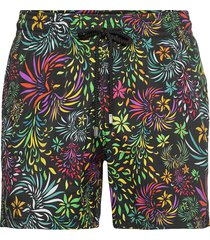 men swimwear stretch evening birds zwemshorts multi/patroon vilebrequin