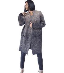abrigo lana beige alexandra cid