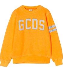 gcds mini orange sweatshirt