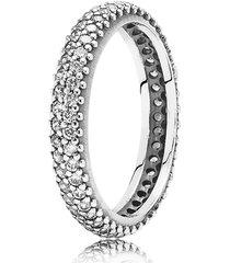 anel de prata brilho tropical