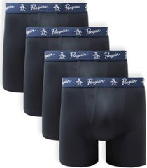 original penguin men's 4-pk. classic boxer briefs