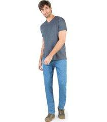calça jeans taco comfort basic destroyer masculina