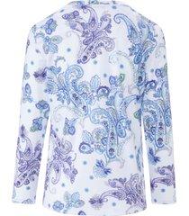 pyjama van 100% katoen met ornamentprint van fürstenberg wit