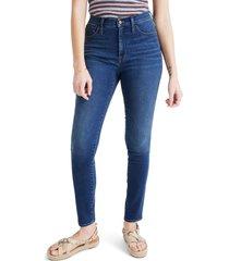 plus size women's madewell 10-inch roadtripper jeans, size 37 - blue