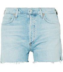 marlow distressed organic denim shorts