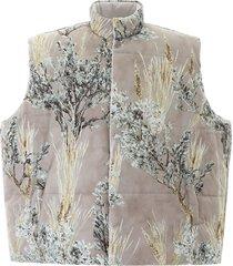 fear of god reversible nylon maxi vest