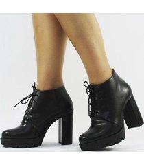 ankle boot carrie napa feminino - feminino