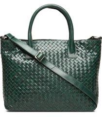bacoli shoulder bag vilde bags top handle bags groen adax