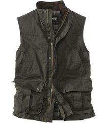 sandanona wax cloth vest, large