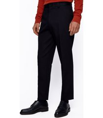 boss men's perin3 relaxed-fit cropped trousers