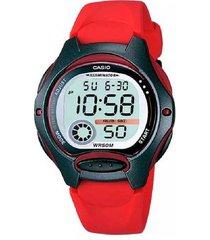 reloj casio lw-200-4a digital 100% original-gris