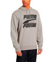 buzo - gris - puma - ref : 85419885