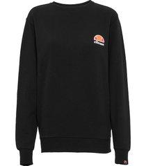 el haverford sweat-shirt tröja svart ellesse