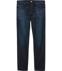 7 for all mankind adrien luxe performance slim fit jeans, size 32 in los angeles dark at nordstrom