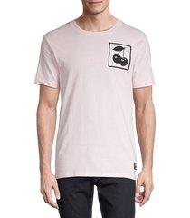 wesc men's max cherry slots t-shirt - ballerina - size xl