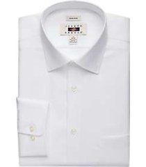 joseph abboud white twill dress shirt