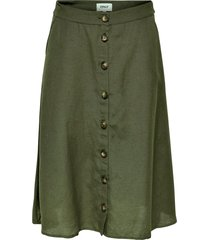 kjol onlviva life hw button skirt