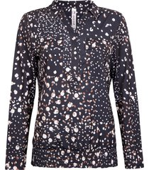 debbie splendour printed blouse