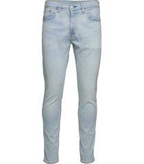 512 slim taper gravie fog adv skinny jeans blå levi´s men