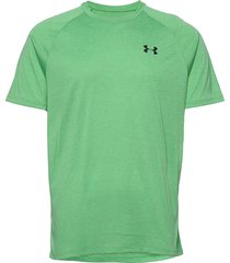 ua tech 2.0 ss tee t-shirts short-sleeved grön under armour