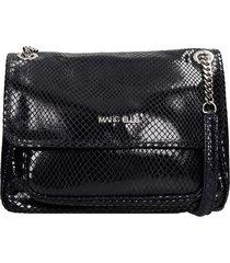 marc ellis rubye m shoulder bag in black leather
