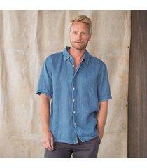 luke linen shirt