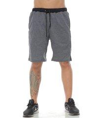 pantaloneta estilo jogger, color negro cross
