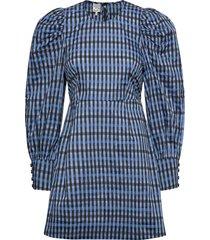 aidine kort klänning blå baum und pferdgarten