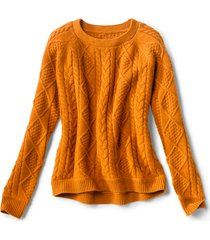 donegal cable crew sweater