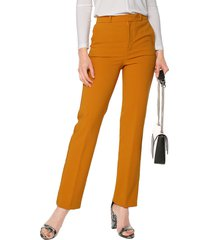 pantalon amarillo exss. vinilo