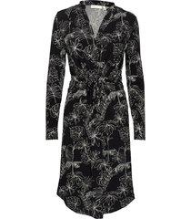 alanaiw dress knälång klänning svart inwear