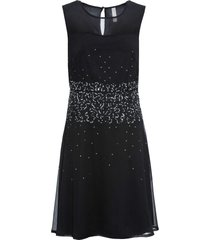 abito con pietre (nero) - bodyflirt boutique