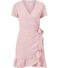 omlottklänning onljoannah s/s wrap short dress