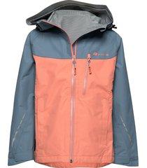 lesja 2,5-layer technical shell jacket outerwear shell clothing shell jacket oranje skogstad
