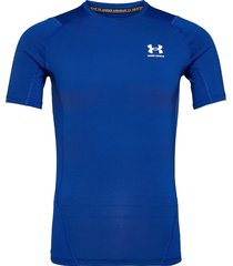 ua hg armour comp ss t-shirts short-sleeved blå under armour