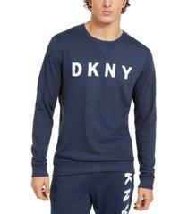 dkny men's logo sweatshirt